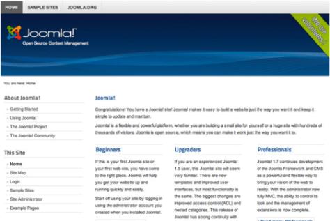 Joomla - Installatron Applications Browser (1)