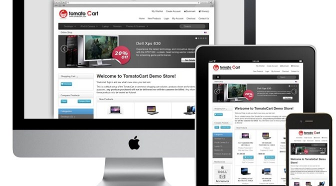 How To Create eCommerce Websites With TomatoCart?