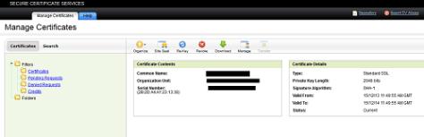 SSL Admin