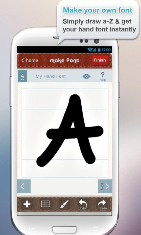 InstaFontMaker Font Maker Free 1