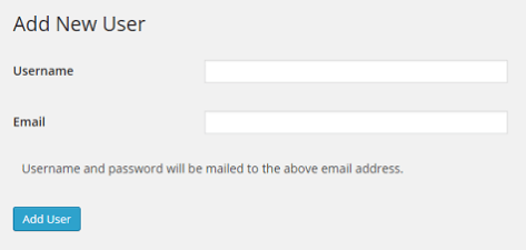 Create User With Password Multisite BEFORE