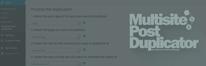 Duplicate Any Post Or Post Type From One Website To Another In WordPress Multisite Network