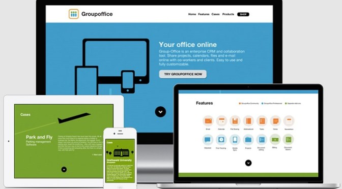 Installing Group Office To Start An Email & File Sharing Enterprise CRM Website