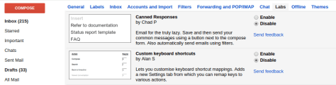 canned gmail response 1