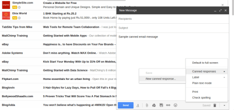 canned gmail response 2