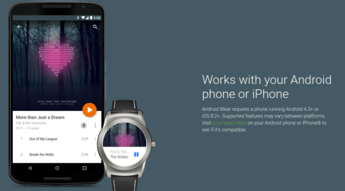 Google's New App Will Link Android Watches To Apple iPhones