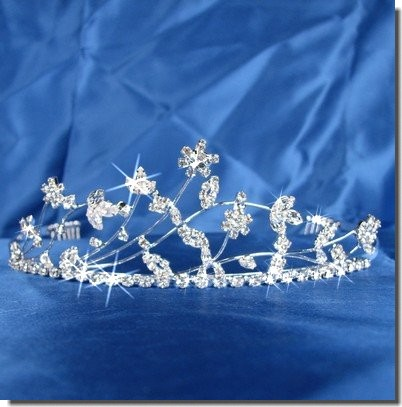 Bridal Tiara Wedding Crown Swarovski Crystal