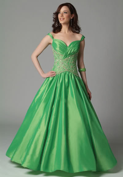 casual green wedding dresses