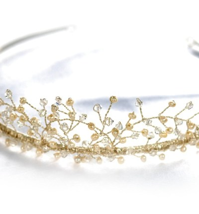 tiara ornamented with crystals