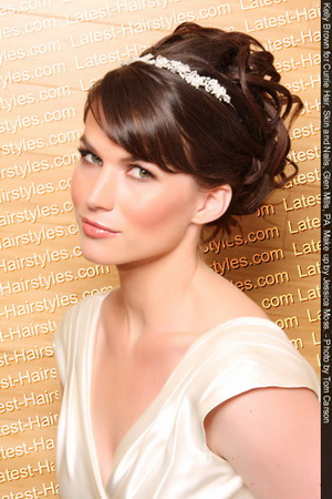 wedding hairstyles for the brides sang maestro