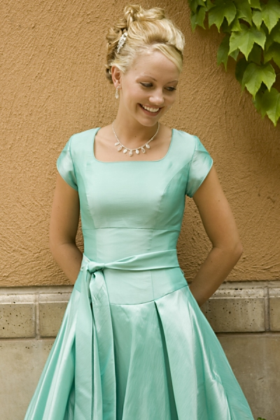 modest bridesmaid dresses