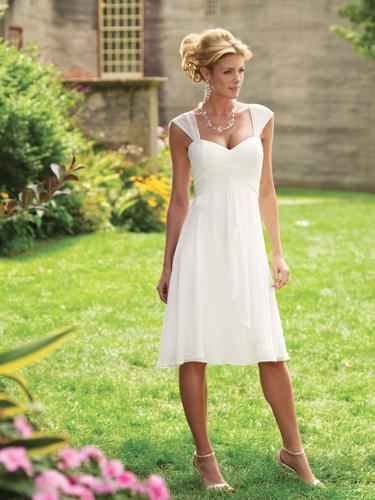informal garden wedding dresses