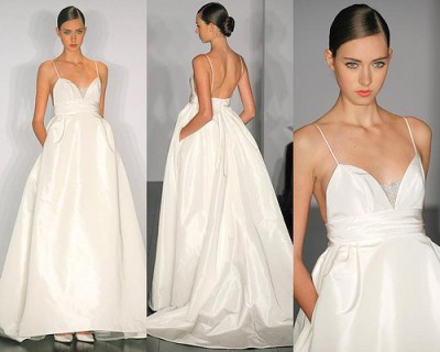 white simple vera wang wedding dresses