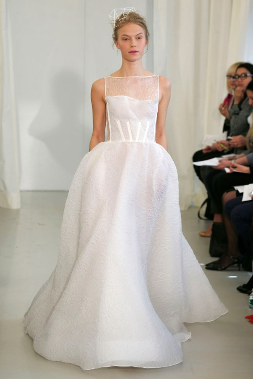 Angel Sanchez spring wedding dresses 2014