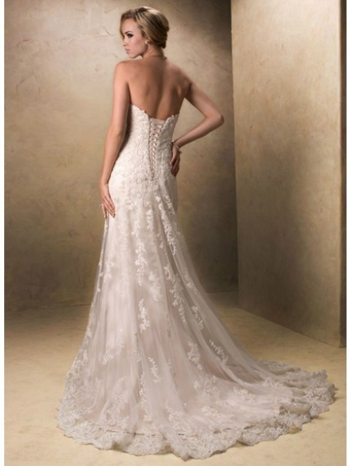 wedding dresses with beading and lace
