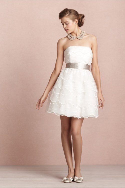 cheap short beach wedding dresses