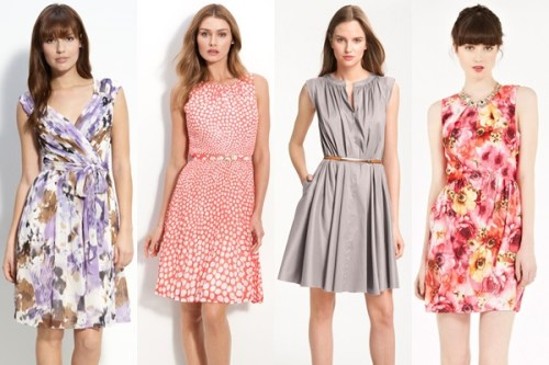 colorful wedding guest dresses