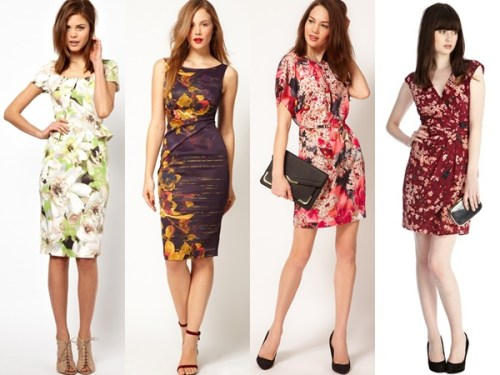 wedding guest dresses in short styles