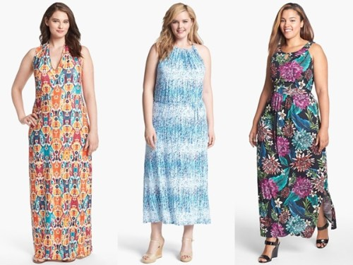 plus size spring long wedding guest dresses