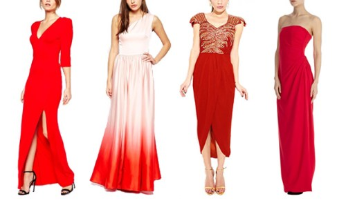 red black tie wedding guest dresses