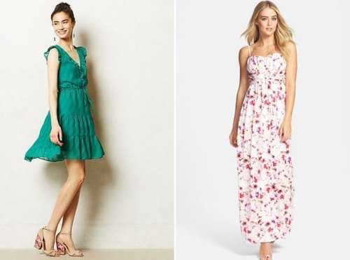 short and long wedding guest dresses for summer 2015