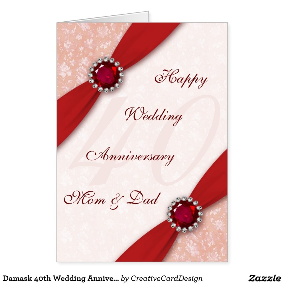 wedding anniversary greeting card design