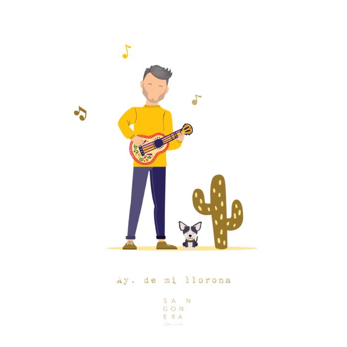 Personalizada, Ilustración Mexicana, Ilustración Digital, Sangonera Design
