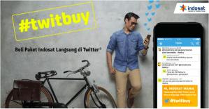 #TweetBuy | Cara Praktis Beli Paket Indosat Via Twitter