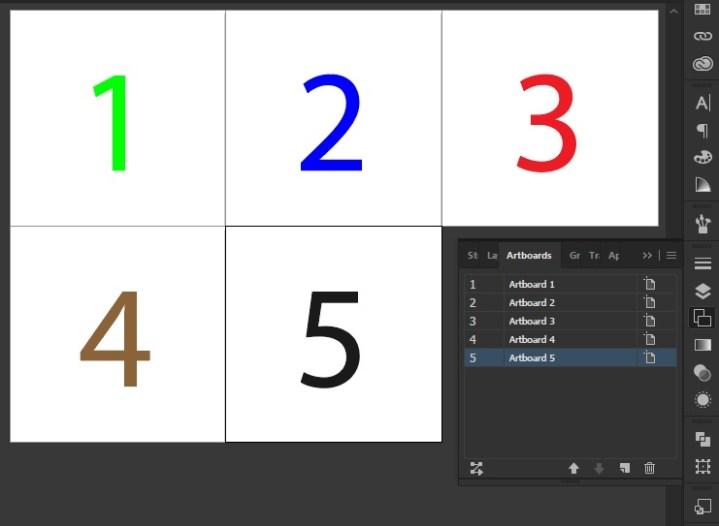 Multiple Artboard untuk Microstock, Shutterstock, Fotolia, Freepik.