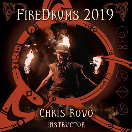 Chris Bailey at Fire Drums! SDS represents at Fire Drums