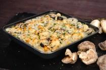 Mushroom Thyme Mac n Cheese