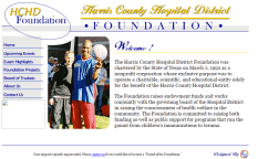HCHD Foundation was one of our early clients. We overhauled their website from a previous design.