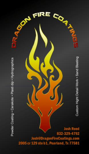Dragon Fire Powder Coating