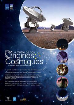 Poster Origines Cosmiques