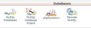 database depan