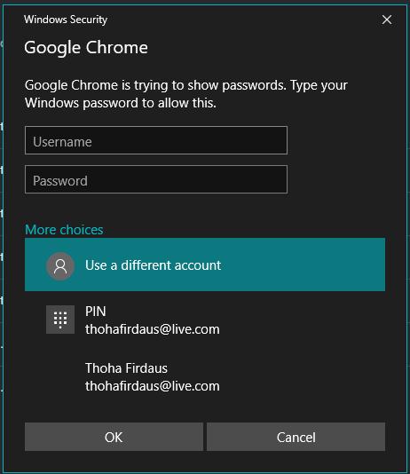 Melihat Kata Sandi/Password yang Tersimpan di Chrome |