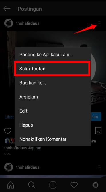 Cara Menyimpan Video Instagram Tanpa Instal Aplikasi Tambahan |