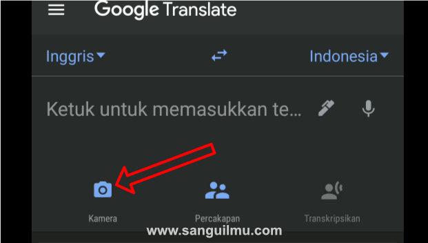 kamera di google translate