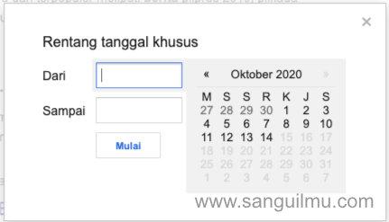 Cara Menampilkan Hasil Pencarian Paling Terbaru di Google