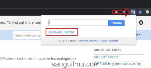 Cara menerjemahkan website menggunakan extension google translate