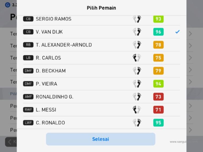 PES Mobile: Agar Pemain CB Maju Saat Tendangan Pojok