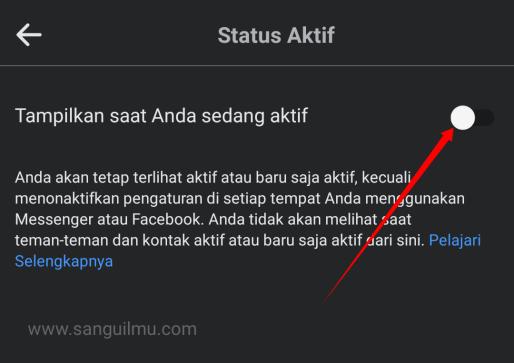 Cara Mematikan Status Online di Facebook