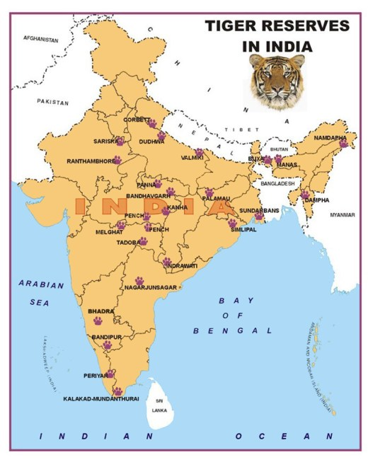 tiger-reserve-map-india