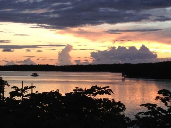 Sanibel sunset, photo thanks to Scott, 07-13-13