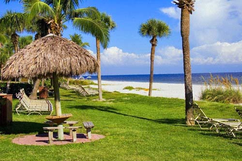 Beach seats at Pointe Santo