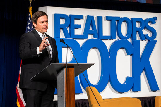 DeSantis 2020 Great American Realtor Days lunch