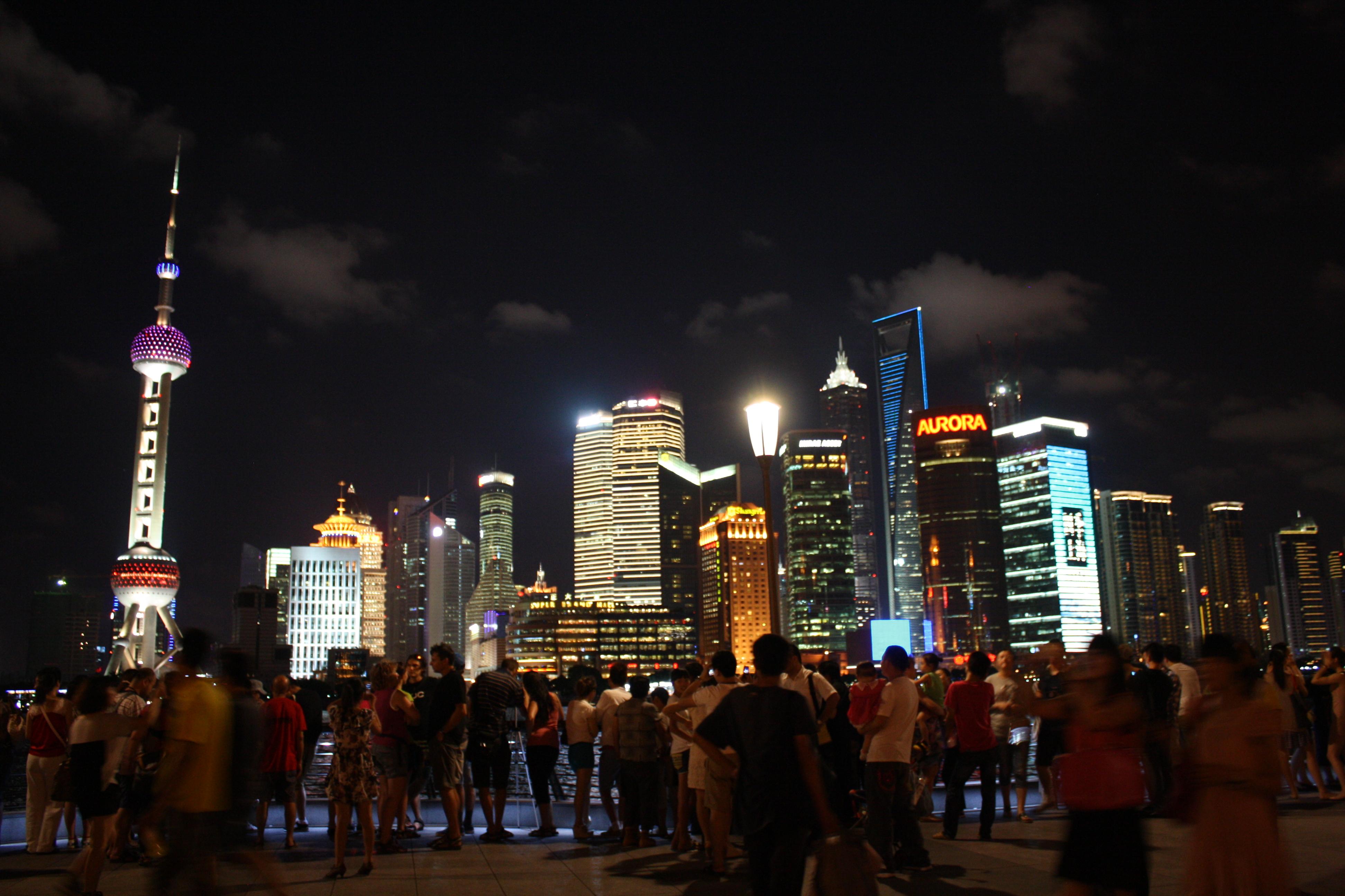 Shanghai Skyline Sanibona