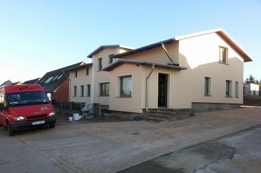 Nach der Sanierung der Fassade