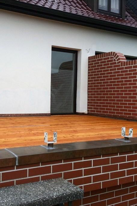 Umbau der Terrasse