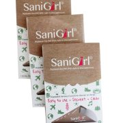 SaniGirl Eco-Friendly Disposable Urination Device. Pack of 30